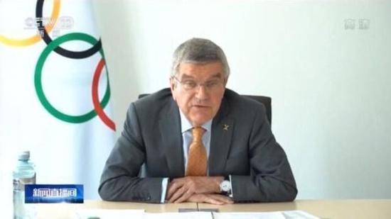 国际奥委会主席:给东京奥运会做最终决定为时尚早图片