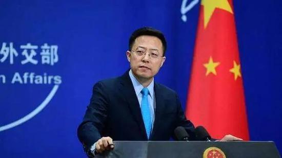 【摩天平台】和香港相提并论赵立坚回怼世界摩天平台图片