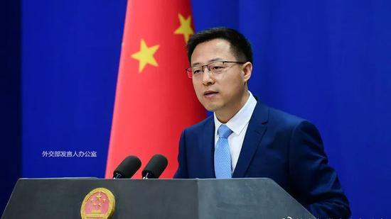 """赵立坚回怼美方""""指控"""":中美两国谁无能,让数字说话!图片"""