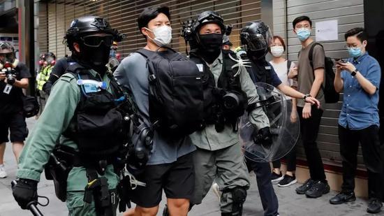 """""""修例风波""""首宗暴乱案宣判 最终法官裁定被告无罪图片"""