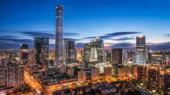 △北京国贸CBD