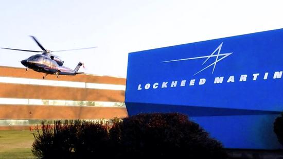洛克希德·马丁公司标记(图源:外媒)