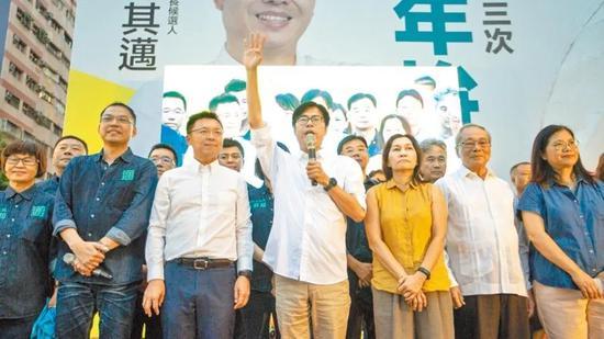 赢回高雄后 民进党已开始着手准备2022