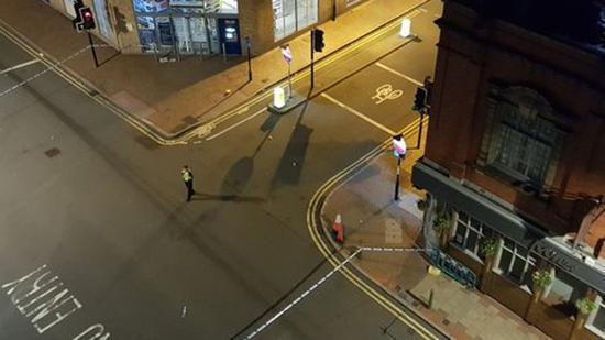 英国伯明翰持刀伤人事件嫌犯被捕 一名27岁男子