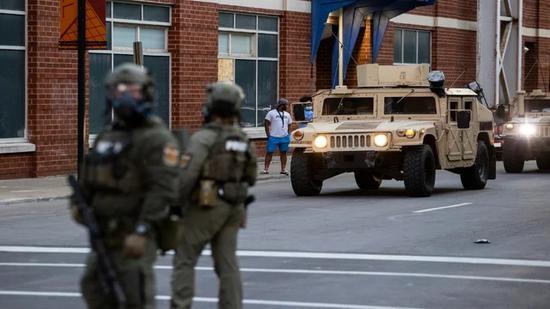 美陆军部长:首都一旦发生动乱 将部署国民警卫队