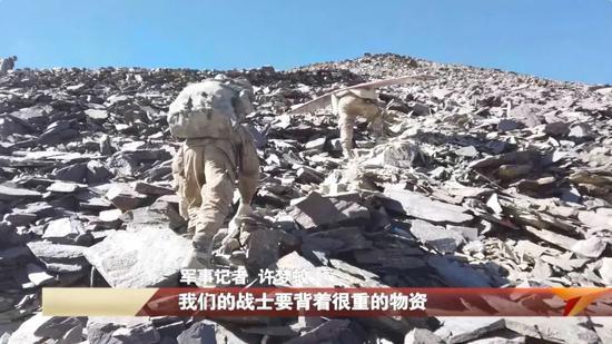 我军海拔5681米最火线画面!(图5)