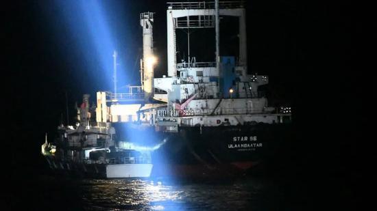 涉案冻品达5千余吨,海南海警成功破获一特大跨国走私案图片