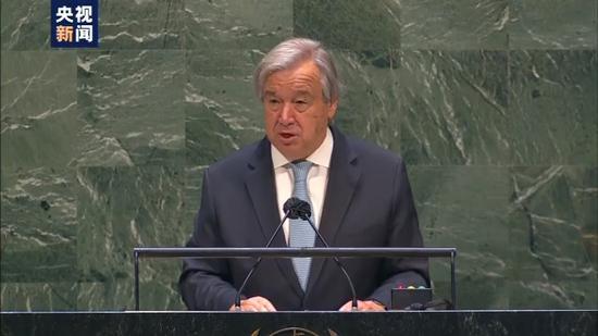 """纪念第75个""""联合国日"""" 古特雷斯强调加强国际合作"""
