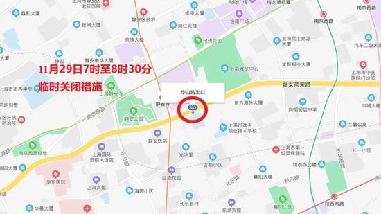 """""""下马""""下周日开跑 上海这些路途将暂时交通控制(图6)"""
