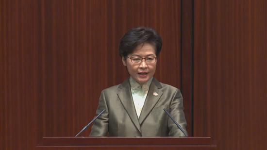 林郑月娥:香港学校应着力推行价值观教育,包括加强国民教育图片