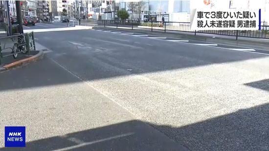 日本男子闹市区酒驾撞车 逃逸前3次碾压受害者