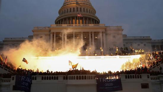 震惊,可耻,悲痛!多个盟国就美国国会暴乱表态