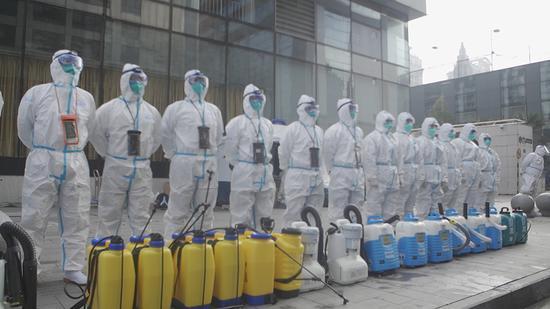 上海黄浦昭通路居民区今起全面消杀 预计7天内完成图片