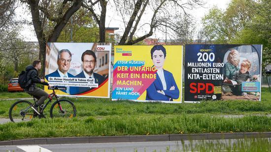 德国九月大选风向标 基民盟在萨安州选举中获胜