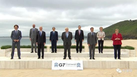 七国峰会第一天 这十个细节很意味深长!