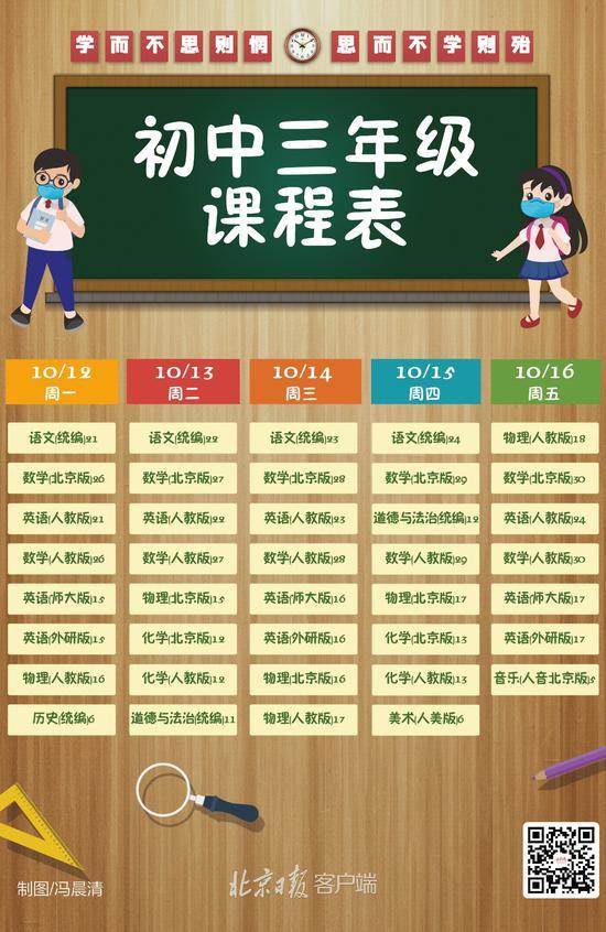 """北京中小学""""地面讲堂""""新一周课程表出炉(图9)"""