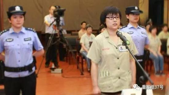 ▲2014年吴英被减至无期徒刑。 资料图片/中新社发