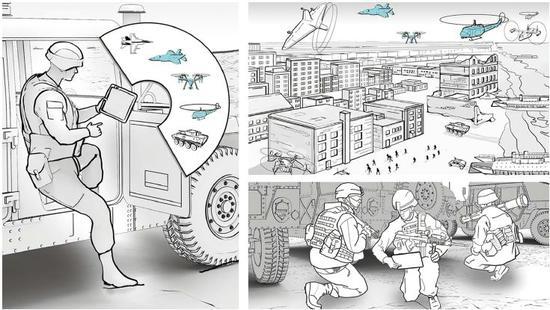 美国DARPA聚焦如何在城市作战环境中获取优势的脚本图
