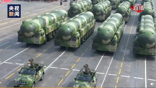 东风-41洲际弹道导弹