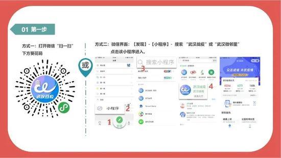 """""""武汉健康码""""上线,须外出市民可扫码登记(附使用方法)图片"""