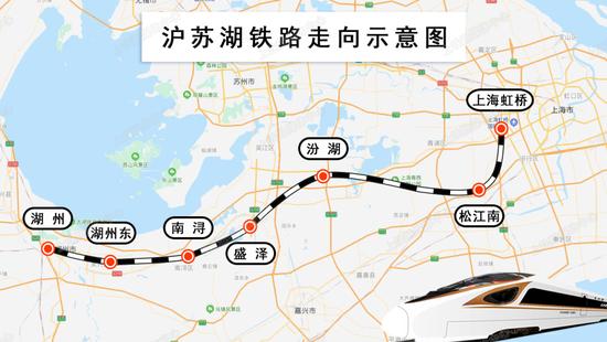 沪苏湖铁路今天开工:总工期预计4年图片