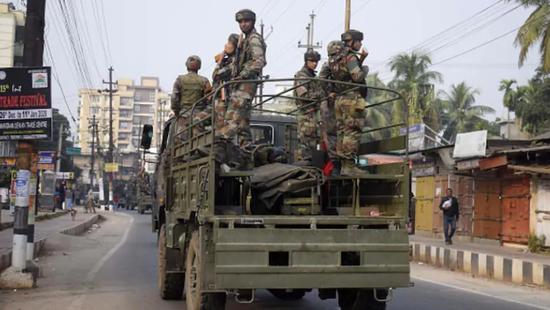 印度陆军阿萨姆步枪队(图源:Getty)