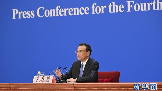 涉港决定高票通过后 李克强对香港提出希望图片