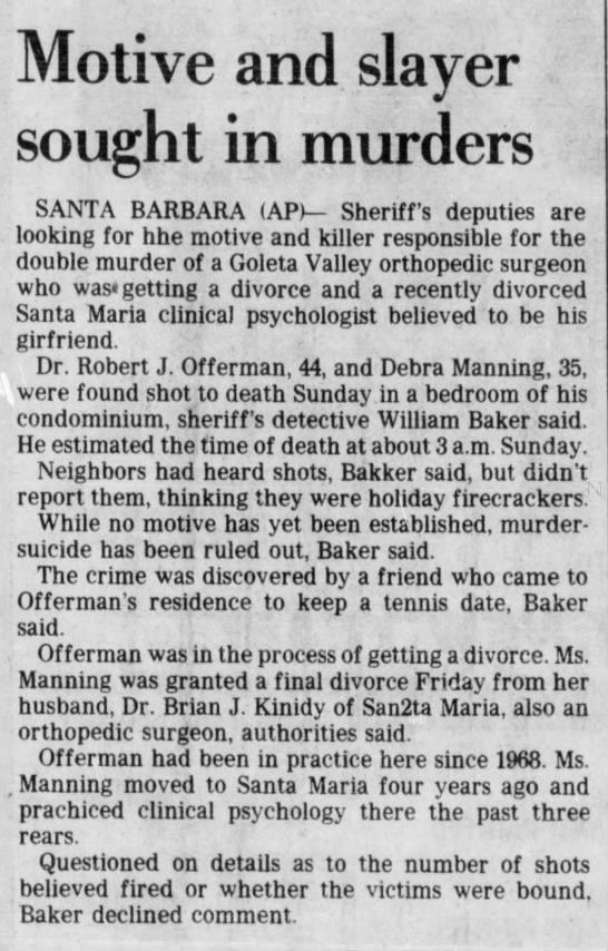 (奥夫曼事件报道,The San Bernardino County Sun)