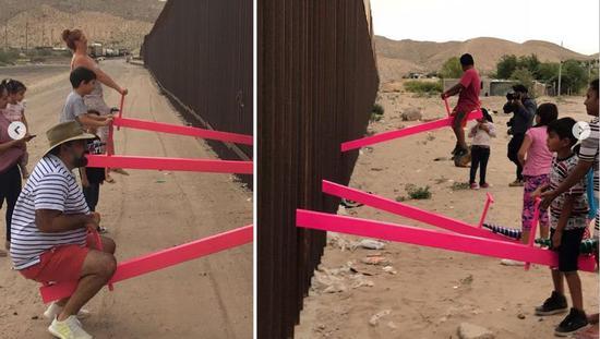 一边是美国一边是墨西哥 这个跨国跷跷板太扎心|特朗普
