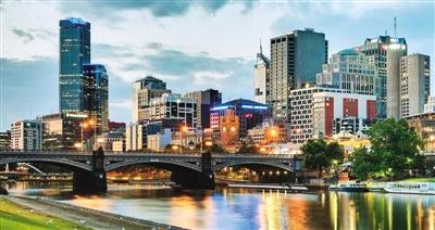 图为澳大利亚墨尔本市景。 (资料图片)