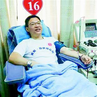 肖磊:医者仁心献血廿载