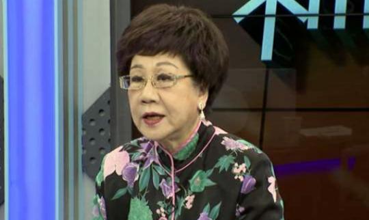 前台湾地区副领导人吕秀莲
