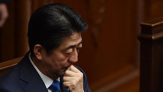 日本首相安倍晋三(图源:视觉中国)