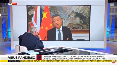 """英媒又拿""""中国拘押记者""""挑事,我大使驳斥图片"""