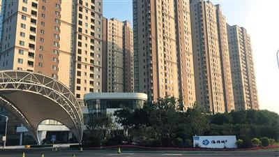图为天津京能海语城项目现状。