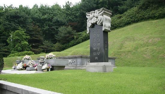 朴正熙安葬在韩国国立墓地
