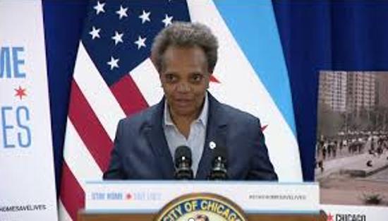 芝加哥市市长洛里·莱特富特 (图源:Fox News)