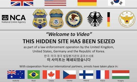 全球最大儿童非法视频暗网被捣毁 逮捕338人