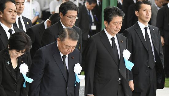 广岛核爆74周年:安倍拒入禁核武条约|安倍
