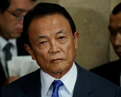 日本副首相麻生太郎:如有需要 安倍应该进行休息