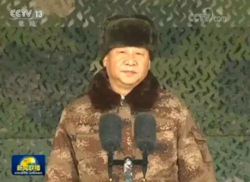 △习近平向全军发布训令