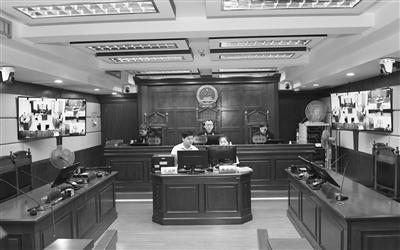 海口中院通过远程视频开庭审理案件