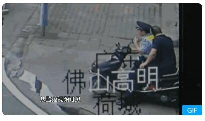 从监控视频可见,上车之后,求助男子近乎系瘫软状态。