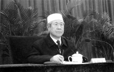 全国政协原常委、中国伊斯兰教协会原会长陈广元逝世图片