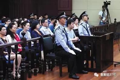 ▲2017年6月23日,山东高院二审改判于欢有期徒刑五年。新华社发