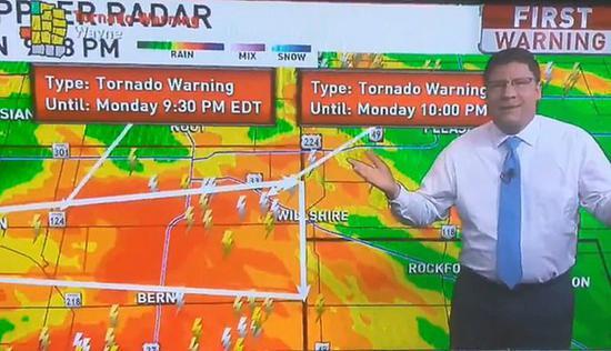 愤恨的气候预告员称,这份作业是为了维护我们的安全