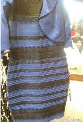 一条横条纹的连衣裙照片传到网上,有人觉得是白色和金色相间的,而有人则很坚持地认为是蓝色和黑色,很快升级为互联网大战