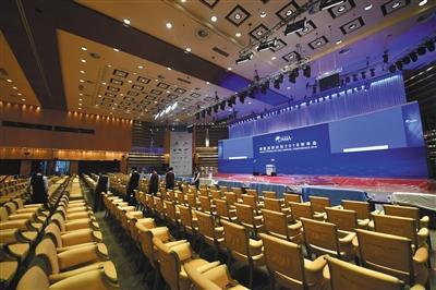 """博鳌亚洲论坛2018年年会将于4月8日至11日在海南博鳌举行。本次年会以""""开放创新的亚洲,繁荣发展的世界""""为主题。 新华社记者 郭程 摄"""