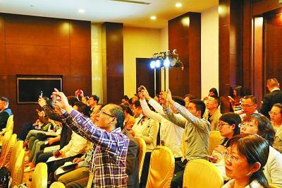 大数据时代的中国文化产业活动现场。光明图片