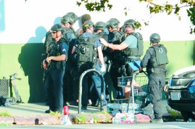 美枪手7枪重伤祖母劫持数十人质 警方劝3小时投降